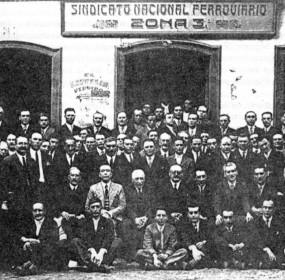 Delegados que asistiron ao Congreso de Monforte de 1931