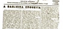 Primeira capa de 'A Nosa Terra', voceiro das Irmandades da Fala (novembro, 1916).